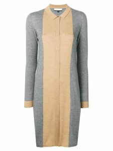 Cashmere In Love Natya two-tone sweater dress - Grey