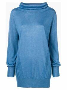 Eleventy knitted sweatshirt - Blue