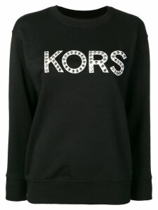 Michael Michael Kors studded sweatshirt - Black