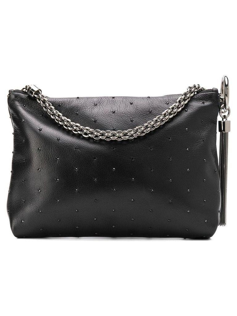 Jimmy Choo Callie studded clutch - Black