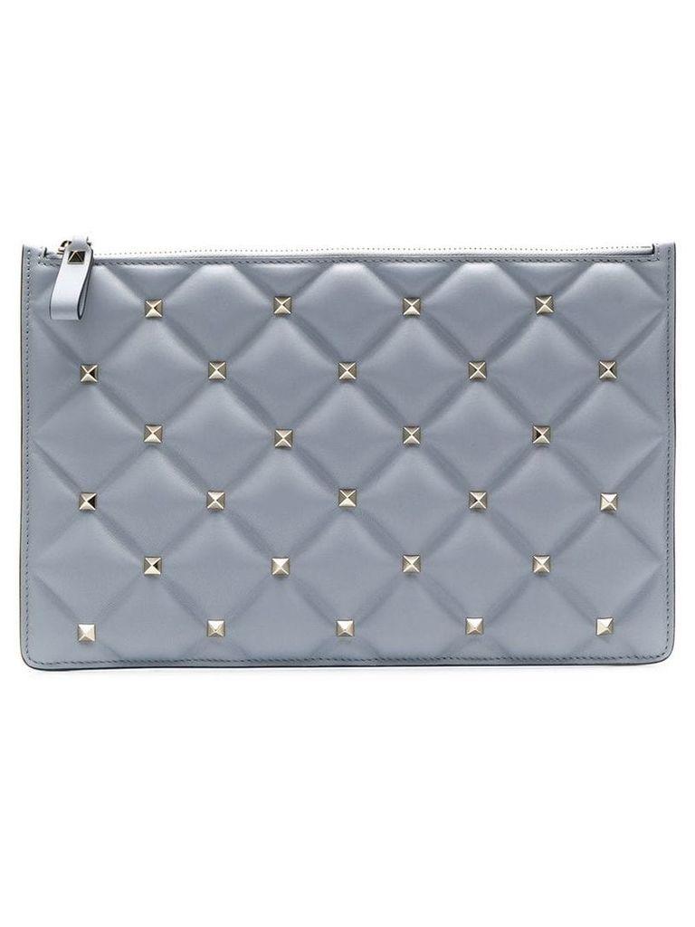 Valentino Valentino Garavani quilted pouch - Grey