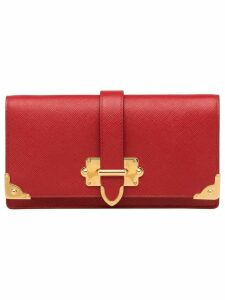 Prada saffiano mini bag - Red