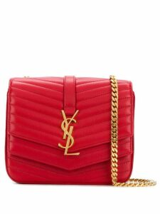 Saint Laurent small Sulpice crossbody bag - Red
