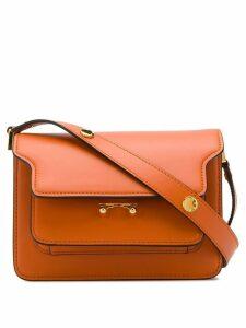 Marni mini Trunk shoulder bag - Orange