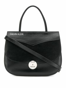 Calvin Klein 205W39nyc wide shoulder bag - Black