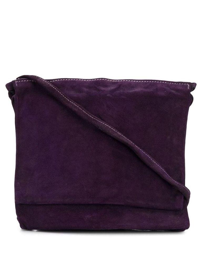 Guidi large pocket bag - Purple