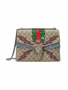Gucci Dionysus GG Supreme embroidered bag - Neutrals