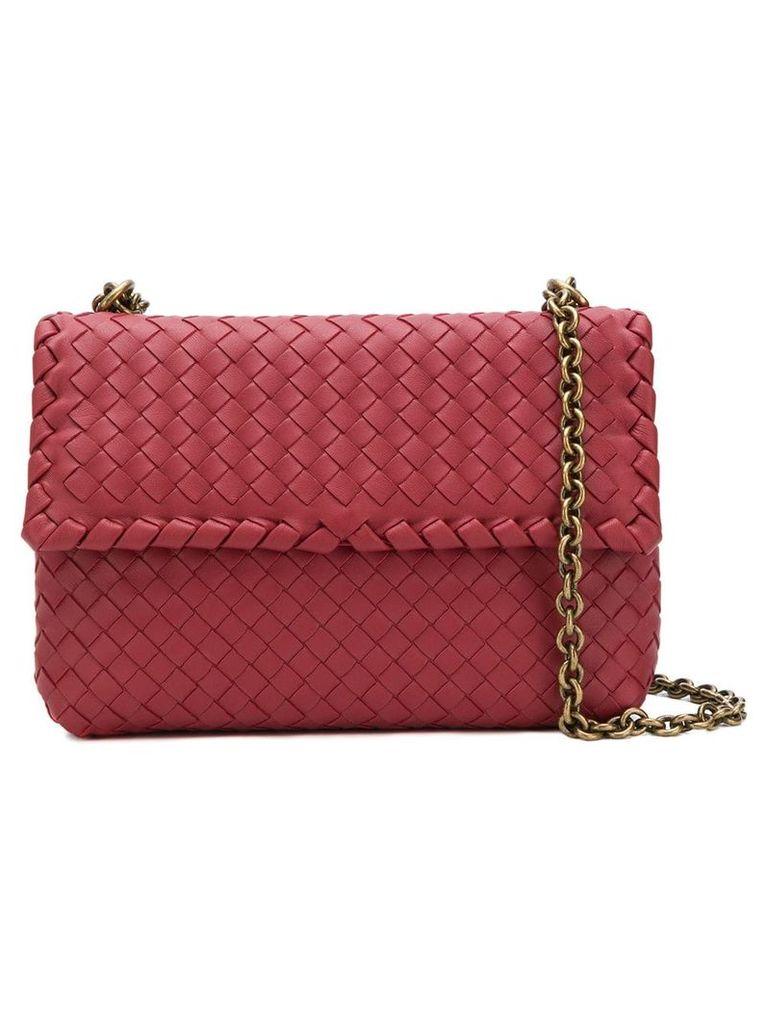 Bottega Veneta Olimpia shoulder bag - Red