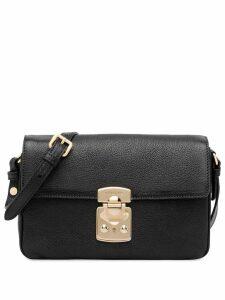 Miu Miu foldover top shoulder bag - Black