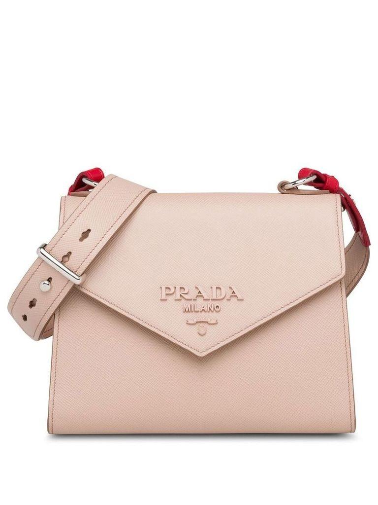 Prada Monochrome Saffiano leather bag - Pink