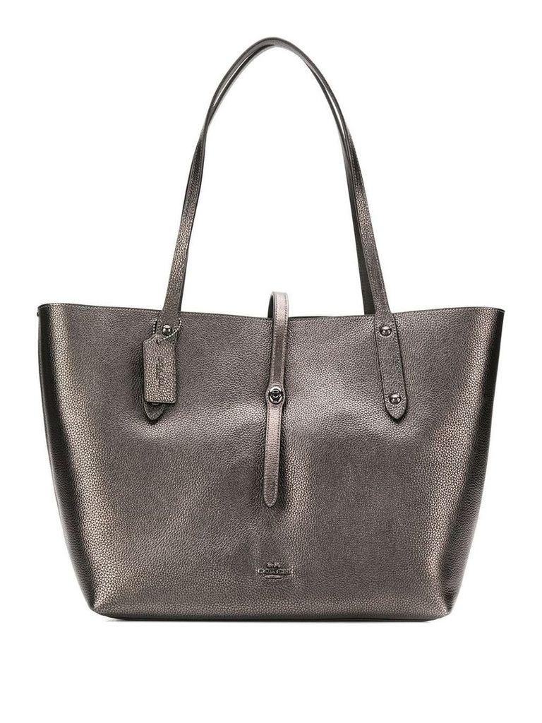 Coach Market tote bag - Silver