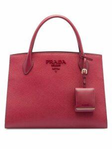 Prada Monochrome tote bag - Pink