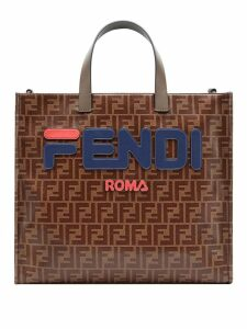 Fendi FendiMania Shopping S bag - Brown