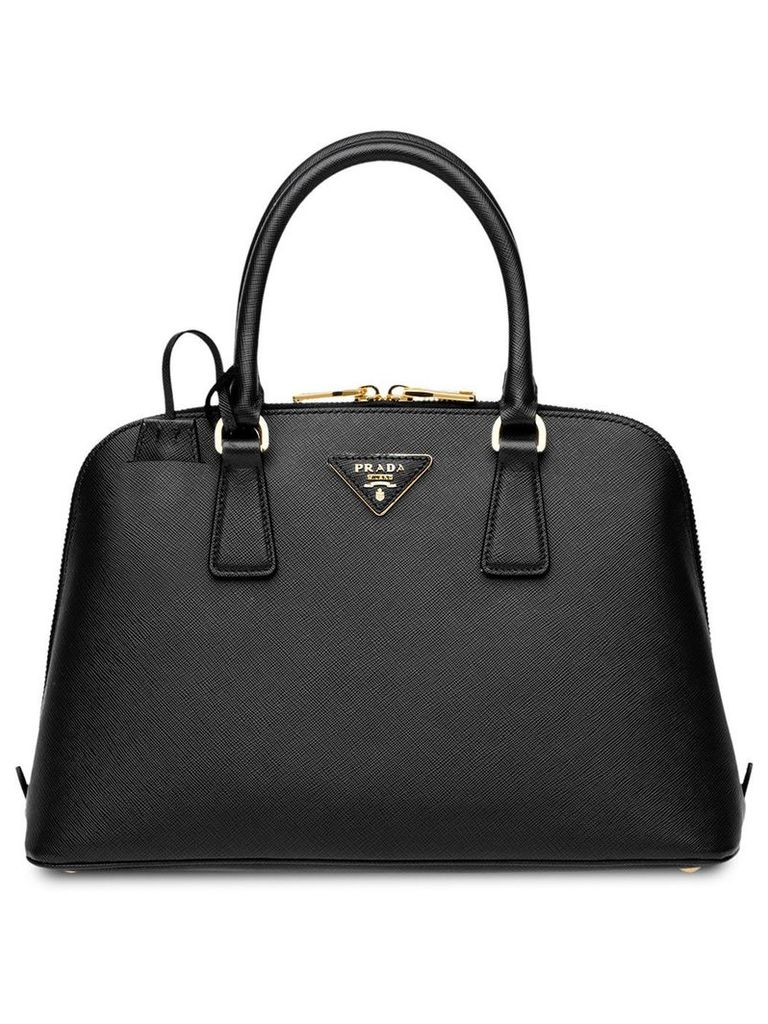 Prada Prada Promenade Saffiano Leather Bag - Black