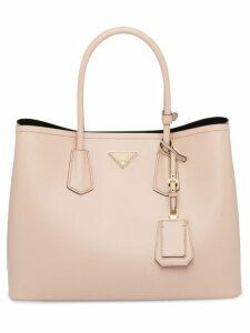 Prada top handles tote bag - Pink