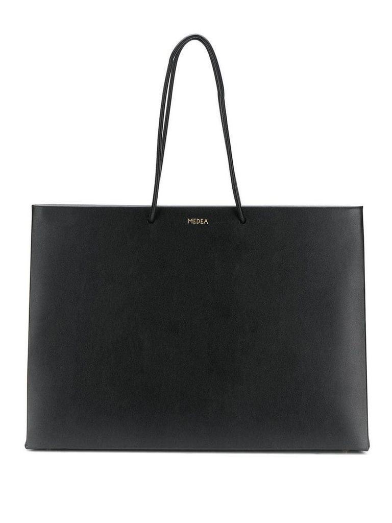 Medea large shopping bag - Black