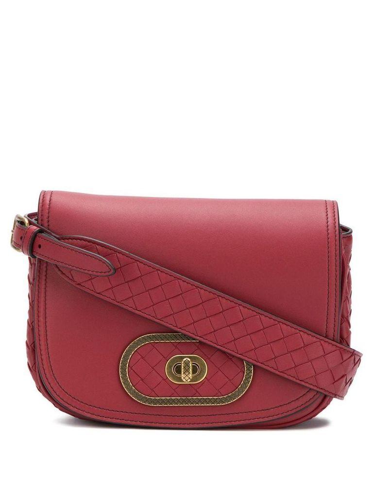 Bottega Veneta BV Luna crossbody bag - Red