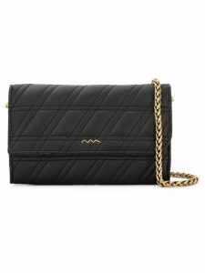 Zanellato stitch detail crossbody bag - Black