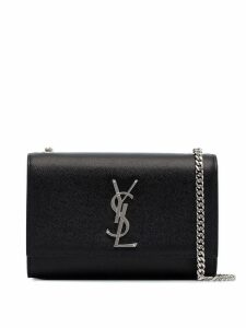 Saint Laurent black Kate small grained leather cross body bag