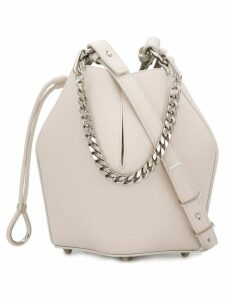 Alexander McQueen small bucket bag - Neutrals