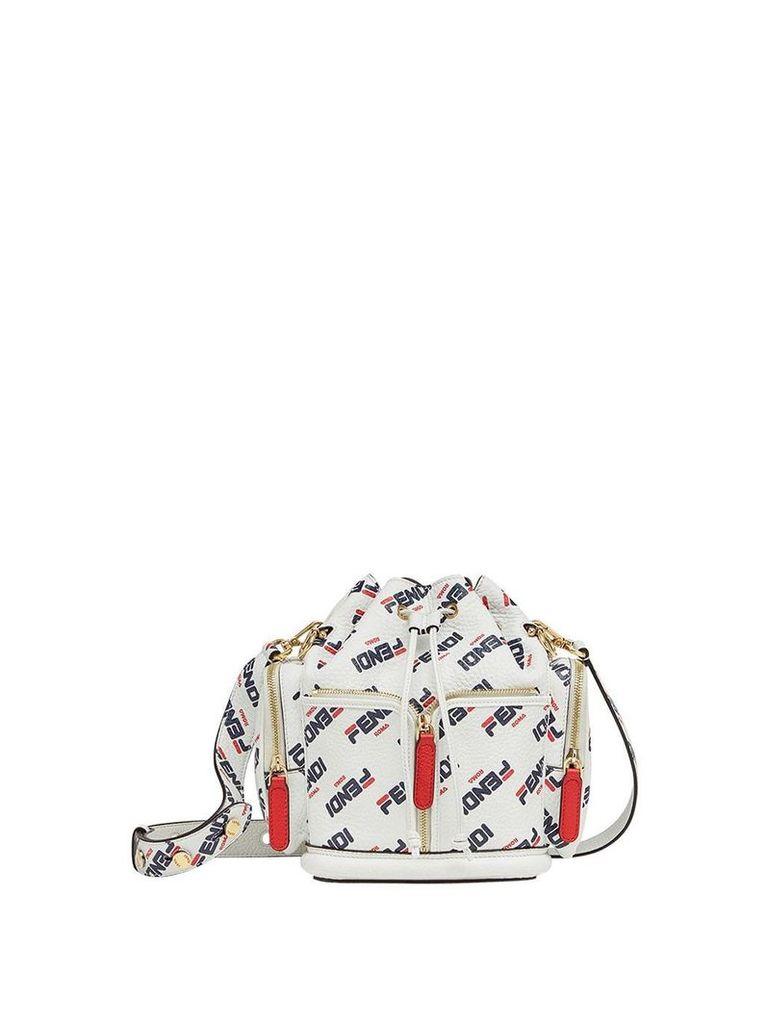 Fendi FendiMania bucket bag - White
