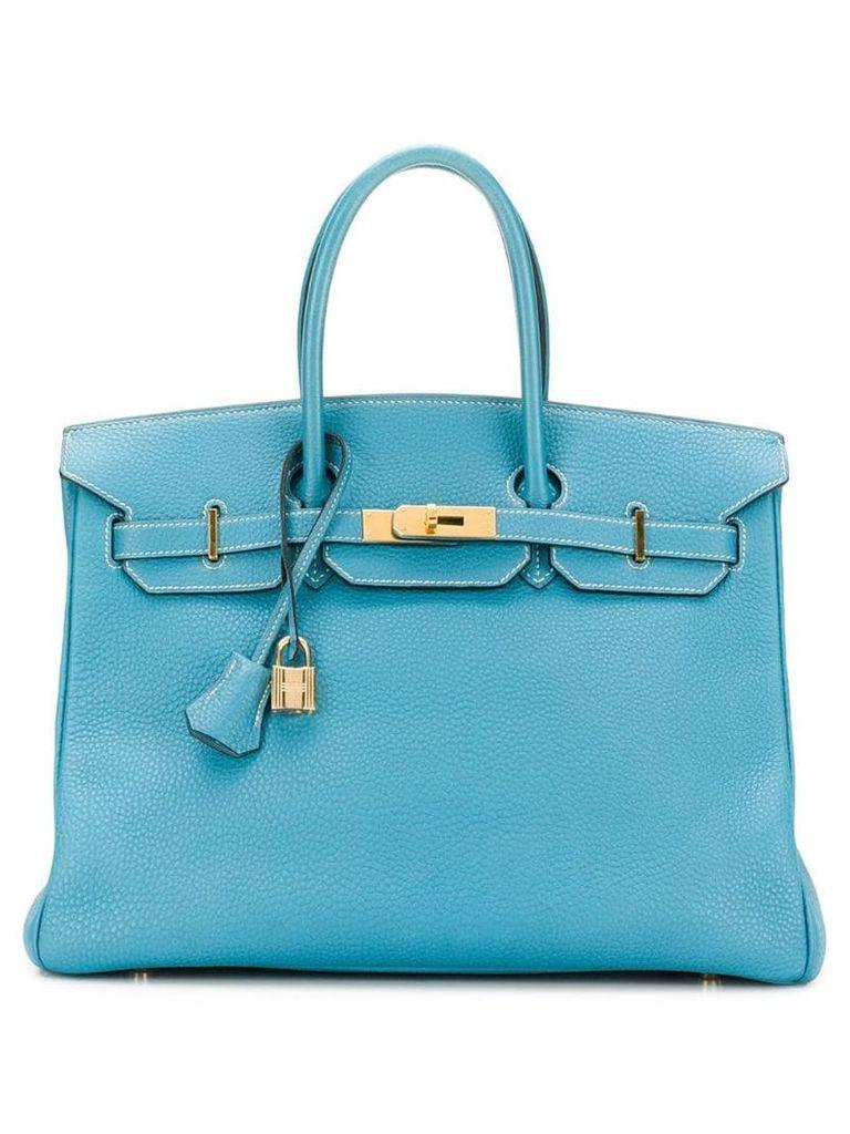 Hermès Vintage 35cm Birkin bag - Blue