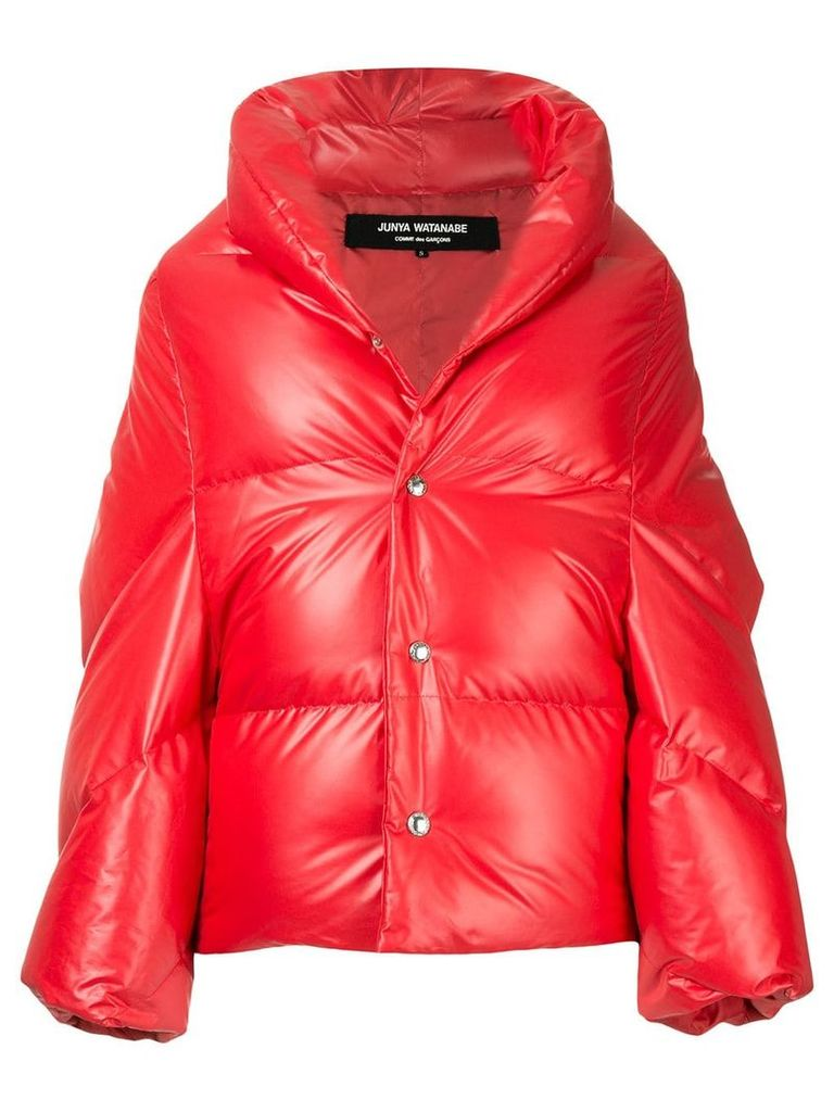 Junya Watanabe Comme Des Garçons Vintage cocoon padded jacket - Red