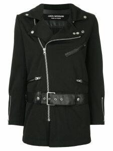Junya Watanabe Comme des Garçons Pre-Owned zipped fitted biker jacket