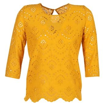 Betty London  GRIZ  women's Blouse in Yellow