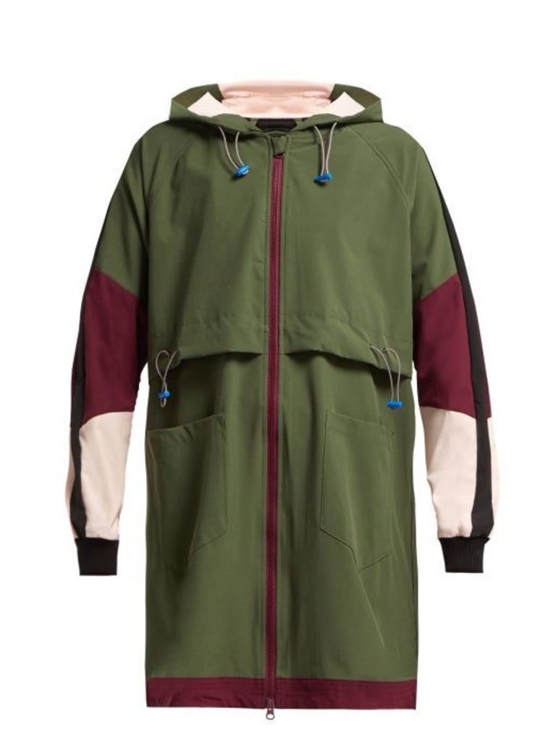 The Upside - Saratoga Hooded Technical Jacket - Womens - Khaki Multi