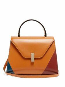 Valextra - Iside Medium Leather Bag - Womens - Tan Multi