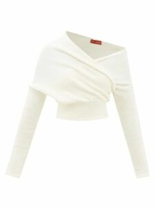 Kalita - Camille Gathered Silk Maxi Dress - Womens - Blue