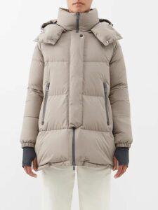 Kalita - Brigitte Silk Habotai Maxi Dress - Womens - Orange