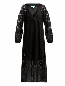 Melissa Odabash - Melissa Crochet Lace Maxi Dress - Womens - Black
