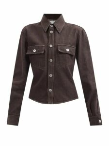 Kalita - Clemence Silk Blend Maxi Dress - Womens - Blue