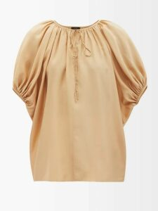 Matteau - The Long Sleeve Sun Tee Swim Top - Womens - Dark Green