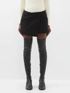 Matteau - The Long Sleeve Tiered Cotton Midi Dress - Womens - White