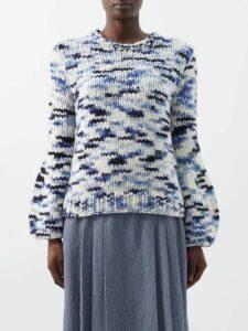 Zimmermann - Corsage Python Print Linen Blend Voile Shirt - Womens - Python