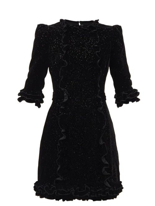 Zimmermann - Zebra Print Linen Midi Dress - Womens - Animal