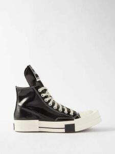 Alexander Mcqueen - Shell Print Silk Gown - Womens - White Black