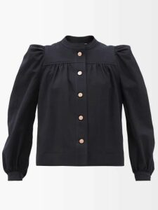 Hillier Bartley - Oversized Silk Double Breasted Blazer - Womens - Green