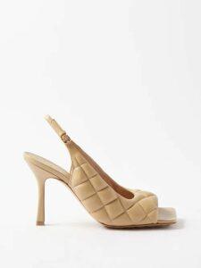Andrew Gn - Daffodil Print Silk Midi Dress - Womens - Black Print