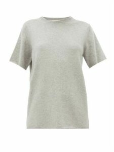 Extreme Cashmere - No. 64 Cashmere Blend T Shirt - Womens - Grey