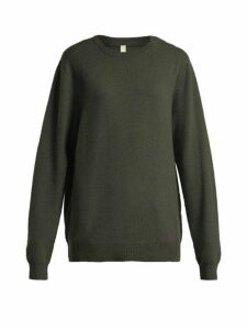 Extreme Cashmere - No. 36 Be Classic Cashmere Blend Sweater - Womens - Khaki