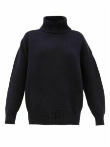 Extreme Cashmere - No. 20 Oversize Xtra Stretch Cashmere Sweater - Womens - Navy