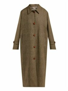 Giuliva Heritage Collection - The Maria Single Breasted Wool Coat - Womens - Brown