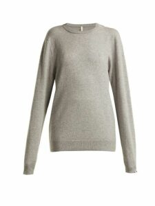 Extreme Cashmere - No.36 Classic Cashmere Blend Sweater - Womens - Grey