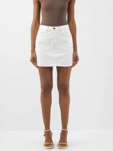 Bottega Veneta - Dropped Sleeve Alpaca Wool Blend Sweater - Womens - Orange