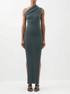 Self-portrait - Sequin Embellished Off The Shoulder Mini Dress - Womens - Black