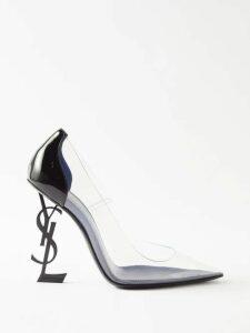 Self-portrait - Off The Shoulder Velvet Mini Dress - Womens - Black
